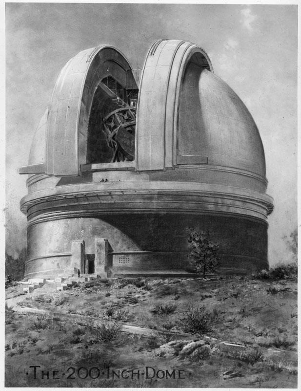 Stellafane History: Palomar Drawings