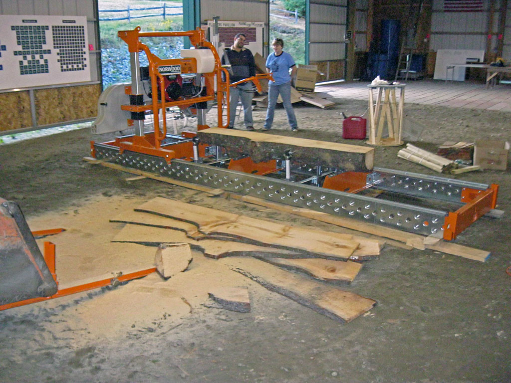 ~Homemade personal sawmill | timberline circular sawmills - ripsaw