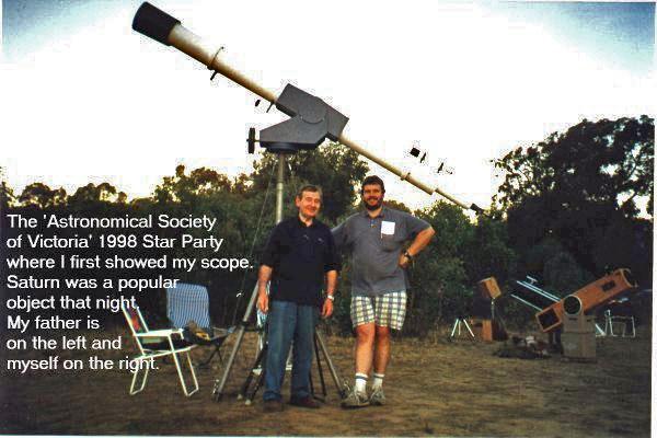 Stellafane Home Made Telescope Gallery Beveridge